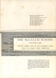 Page 3, 1959 Edition, McCallie High School - Pennant Yearbook (Chattanooga, TN) online yearbook collection