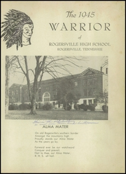 Page 5, 1945 Edition, Rogersville High School - Warrior Yearbook (Rogersville, TN) online yearbook collection