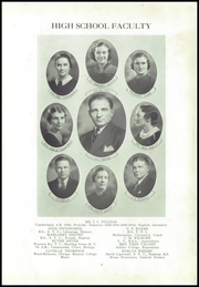 Page 9, 1936 Edition, Trousdale County High School - Stepping Stone Yearbook (Hartsville, TN) online yearbook collection