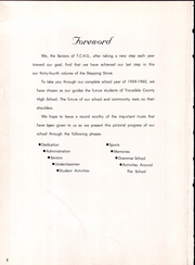Page 6, 1960 Edition, Trousdale County High School - Stepping Stone Yearbook (Hartsville, TN) online yearbook collection
