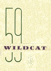 1959 Edition, Monterey High School - Wildcat Yearbook (Monterey, TN)