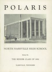 Page 5, 1950 Edition, North High School - Polaris Yearbook (Nashville, TN) online yearbook collection