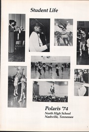 Page 5, 1974 Edition, North High School - Polaris Yearbook (Nashville, TN) online yearbook collection