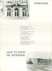 Page 6, 1969 Edition, Riverside High School - Trojan Yearbook (Chattanooga, TN) online yearbook collection