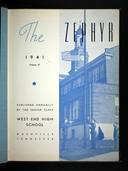 Page 5, 1941 Edition, West End High School - Zephyr Yearbook (Nashville, TN) online yearbook collection