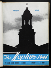 Page 5, 1944 Edition, West End High School - Zephyr Yearbook (Nashville, TN) online yearbook collection