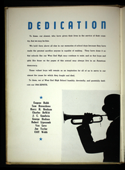 Page 6, 1944 Edition, West End High School - Zephyr Yearbook (Nashville, TN) online yearbook collection
