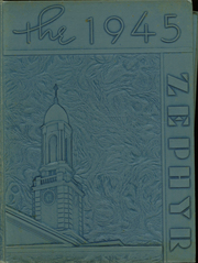 1945 Edition, West End High School - Zephyr Yearbook (Nashville, TN)