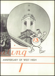 Page 11, 1950 Edition, West End High School - Zephyr Yearbook (Nashville, TN) online yearbook collection