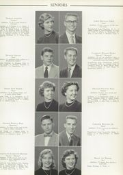 Page 17, 1954 Edition, West End High School - Zephyr Yearbook (Nashville, TN) online yearbook collection