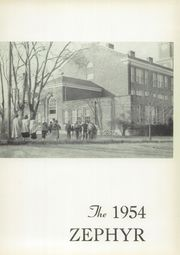 Page 5, 1954 Edition, West End High School - Zephyr Yearbook (Nashville, TN) online yearbook collection