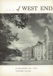 Page 6, 1954 Edition, West End High School - Zephyr Yearbook (Nashville, TN) online yearbook collection