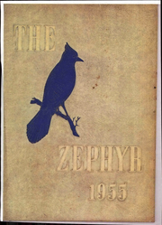 West End High School - Zephyr Yearbook (Nashville, TN) online yearbook collection, 1955 Edition, Page 1