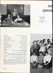Page 12, 1955 Edition, West End High School - Zephyr Yearbook (Nashville, TN) online yearbook collection