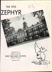 Page 7, 1955 Edition, West End High School - Zephyr Yearbook (Nashville, TN) online yearbook collection