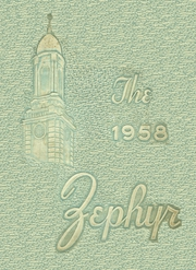1958 Edition, West End High School - Zephyr Yearbook (Nashville, TN)