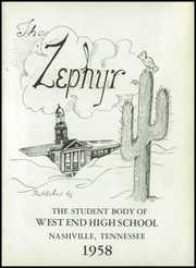 Page 5, 1958 Edition, West End High School - Zephyr Yearbook (Nashville, TN) online yearbook collection