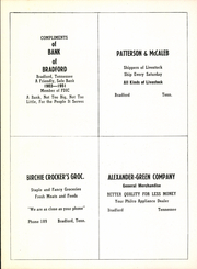Page 116, 1951 Edition, Bradford High School - Beacon Yearbook (Bradford, TN) online yearbook collection