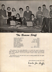 Page 12, 1958 Edition, Bradford High School - Beacon Yearbook (Bradford, TN) online yearbook collection