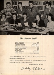 Page 12, 1959 Edition, Bradford High School - Beacon Yearbook (Bradford, TN) online yearbook collection