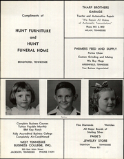 Page 74, 1963 Edition, Bradford High School - Beacon Yearbook (Bradford, TN) online yearbook collection