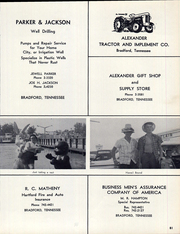 Page 85, 1963 Edition, Bradford High School - Beacon Yearbook (Bradford, TN) online yearbook collection