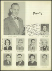 Page 8, 1952 Edition, Grove High School - Futurist Yearbook (Paris, TN) online yearbook collection