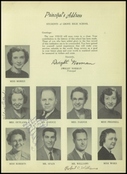Page 11, 1953 Edition, Grove High School - Futurist Yearbook (Paris, TN) online yearbook collection