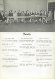 Page 14, 1954 Edition, East High School - Beacon Yearbook (Knoxville, TN) online yearbook collection