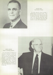 Page 13, 1955 Edition, East High School - Beacon Yearbook (Knoxville, TN) online yearbook collection