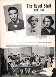 Page 8, 1953 Edition, Howard High School - Rebel Yearbook (Nashville, TN) online yearbook collection
