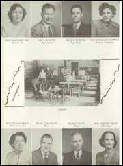 Page 12, 1951 Edition, Byars Hall High School - Wildcat Yearbook (Covington, TN) online yearbook collection