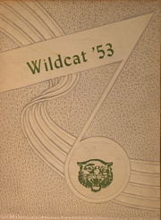 1953 Edition, Byars Hall High School - Wildcat Yearbook (Covington, TN)