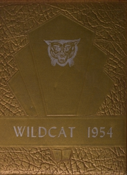 1954 Edition, Byars Hall High School - Wildcat Yearbook (Covington, TN)