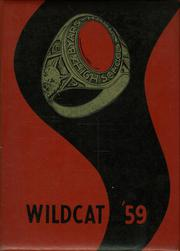 1959 Edition, Byars Hall High School - Wildcat Yearbook (Covington, TN)