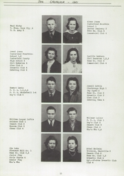 Page 15, 1941 Edition, Central High School - Cavalier Yearbook (Cookeville, TN) online yearbook collection