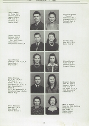 Page 17, 1941 Edition, Central High School - Cavalier Yearbook (Cookeville, TN) online yearbook collection