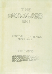 Page 5, 1941 Edition, Central High School - Cavalier Yearbook (Cookeville, TN) online yearbook collection