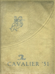 1951 Edition, Central High School - Cavalier Yearbook (Cookeville, TN)