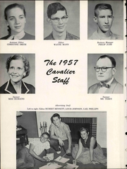 Page 12, 1957 Edition, Central High School - Cavalier Yearbook (Cookeville, TN) online yearbook collection