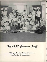 Page 14, 1957 Edition, Central High School - Cavalier Yearbook (Cookeville, TN) online yearbook collection