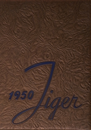 1950 Edition, Blountville High School - Tiger Yearbook (Blountville, TN)