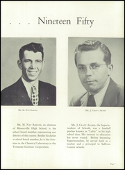 Page 11, 1950 Edition, Blountville High School - Tiger Yearbook (Blountville, TN) online yearbook collection