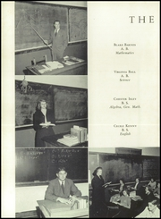 Page 12, 1950 Edition, Blountville High School - Tiger Yearbook (Blountville, TN) online yearbook collection