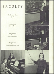 Page 13, 1950 Edition, Blountville High School - Tiger Yearbook (Blountville, TN) online yearbook collection