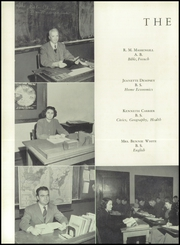 Page 14, 1950 Edition, Blountville High School - Tiger Yearbook (Blountville, TN) online yearbook collection
