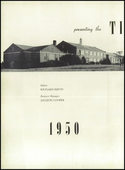 Page 6, 1950 Edition, Blountville High School - Tiger Yearbook (Blountville, TN) online yearbook collection