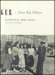 Page 7, 1950 Edition, Blountville High School - Tiger Yearbook (Blountville, TN) online yearbook collection