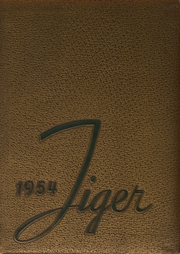 1954 Edition, Blountville High School - Tiger Yearbook (Blountville, TN)