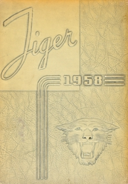 1958 Edition, Blountville High School - Tiger Yearbook (Blountville, TN)